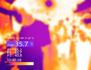 Telecamere termografiche misurazione corporea